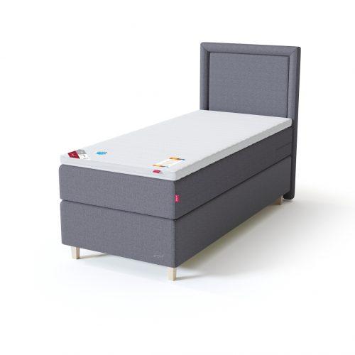 Sleepwell sarja BLACK kontinentaalvoodi mõõtudega 160x200, mis koosneb kahest pocket-vedrustusega aluskušetist ja vedrumadratsist