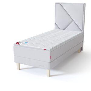 Sleepwell sarja RED alusraamiga kontinentaalvoodi koosneb kas ühest või kahest ilma vedruga alusraamist ja vedrumadratsist
