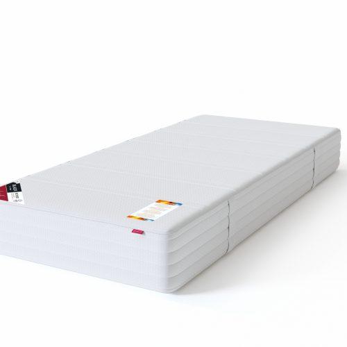 Sleepwell sarja BLACK vedrumadrats multipocket pakitud 7-tsoonilise multipocket-vedrustusega