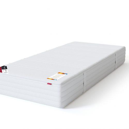 Sleepwell sarja BLACK vedrumadrats multipocket lux pakitud 7-tsoonilise multipocket-vedrustusega